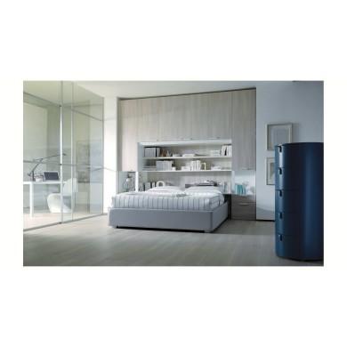 Тапицирано легло и шкафове от ПДЧ