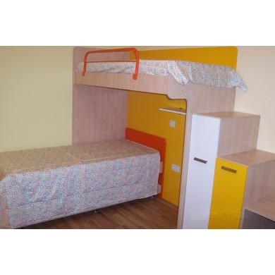 Детска MDF с легла на 2 етажа